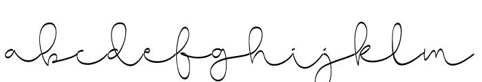 CuteBabyLong-ExpandedRegular Font LOWERCASE