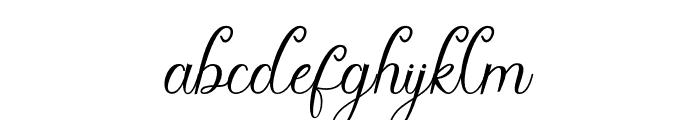 CynthiaScript Font LOWERCASE