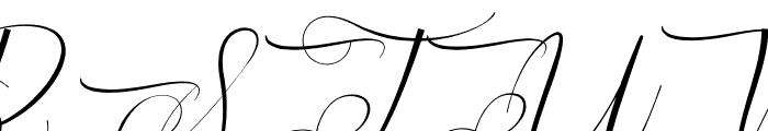 Cynthian Font UPPERCASE