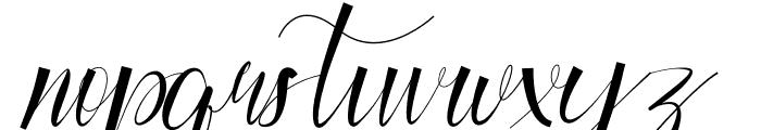 Cynthian Font LOWERCASE