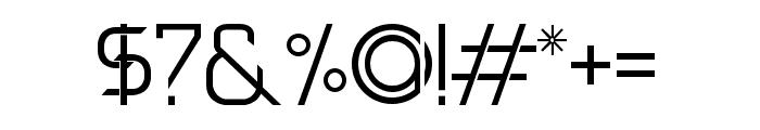 DAVINCI Font OTHER CHARS