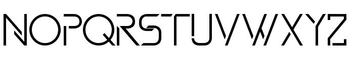 DAVINCI Font UPPERCASE