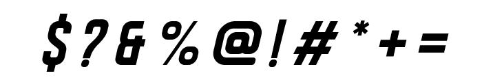 DISPLAYEDOblique Font OTHER CHARS
