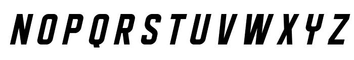 DISPLAYEDOblique Font LOWERCASE