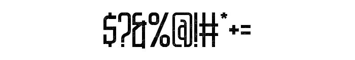 DNSGibsonsOne-RegularRough Font OTHER CHARS