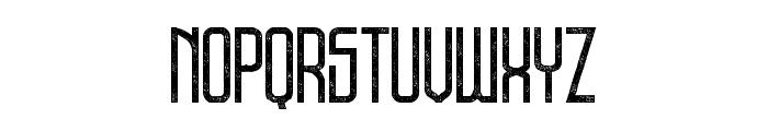 DNSGibsonsOne-RegularRough Font UPPERCASE