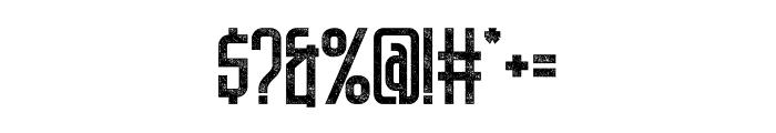 DNSGibsonsOne-SemiBoldRough Font OTHER CHARS
