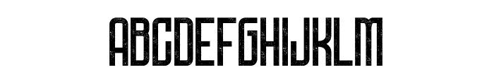 DNSGibsonsOne-SemiBoldRough Font LOWERCASE