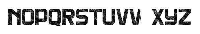 DNSGibsonsTwo-BoldRough Font UPPERCASE