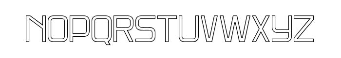 DNSGibsonsTwo-RegularOutline Font UPPERCASE