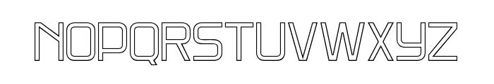DNSGibsonsTwo-RegularOutline Font LOWERCASE