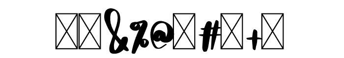 DTC HoneyBee Font OTHER CHARS