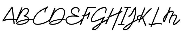 DWARF Signature Regular Font UPPERCASE