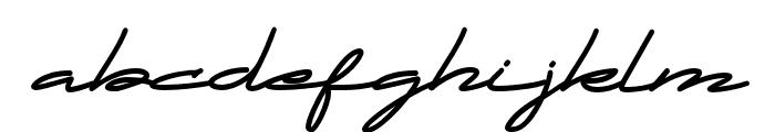 DWARF Signature Regular Font LOWERCASE