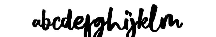 DalgonisBrush Font LOWERCASE