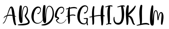 Dalillah Font UPPERCASE