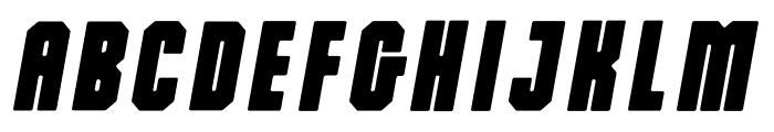 Dalmation Oblique Font LOWERCASE