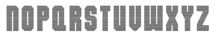 Dalmation Strips Font UPPERCASE