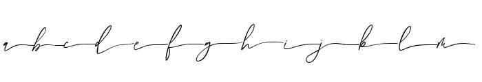Daltongardensswashright Font LOWERCASE