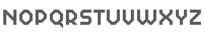Dance Floor Double Octagon Font UPPERCASE