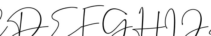 Dantina Font UPPERCASE