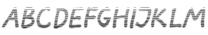 Darbog gradient Bold Italic Font UPPERCASE