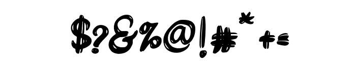 DareDarling Font OTHER CHARS