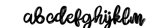DareDarling Font LOWERCASE