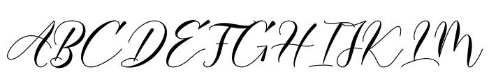 Darelina Font UPPERCASE