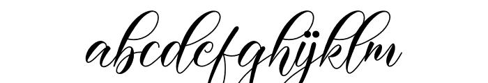 Darelina Font LOWERCASE