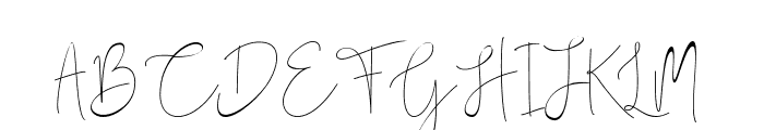 Dark Saturday Font UPPERCASE
