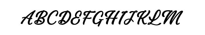 DarutaBold-Bold Font UPPERCASE
