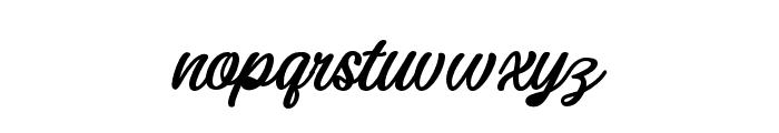 DarutaBold-Bold Font LOWERCASE