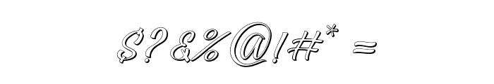 Darutashadow-Shadow Font OTHER CHARS