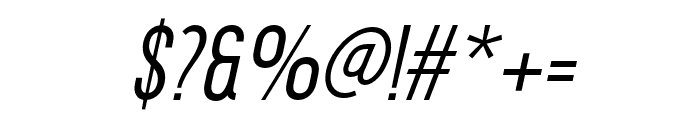 DavishNormalItalic-Regular Font OTHER CHARS