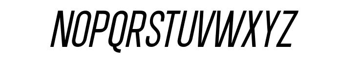 DavishNormalItalic-Regular Font UPPERCASE