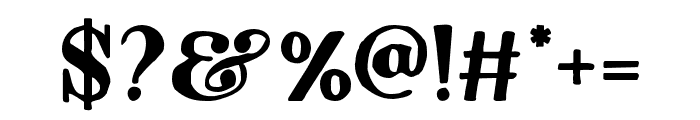 Dayanara-Organic Font OTHER CHARS
