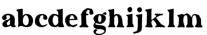 Dayanara-Organic Font LOWERCASE