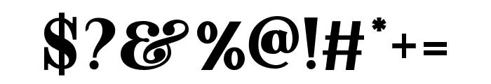 Dayanara-Regular Font OTHER CHARS