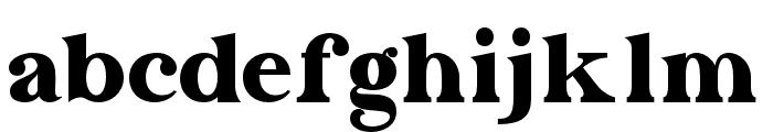 Dayanara-Regular Font LOWERCASE