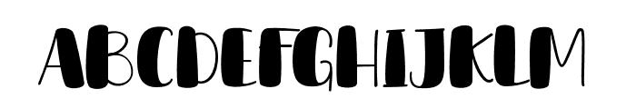 DeLumary Font UPPERCASE