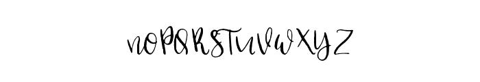 Dear Hearts Font UPPERCASE