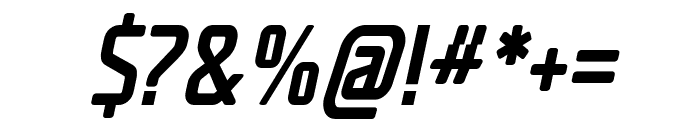 Decade Italic Font OTHER CHARS