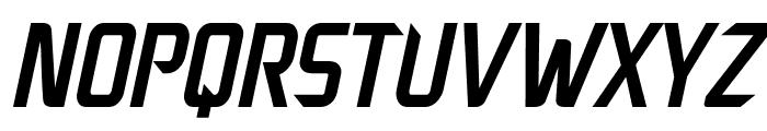 Decade Italic Font UPPERCASE