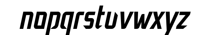 Decade Italic Font LOWERCASE