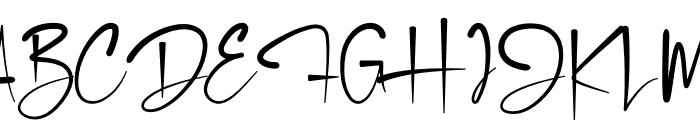 Deddyfont Font UPPERCASE