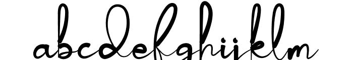 Deddyfont Font LOWERCASE