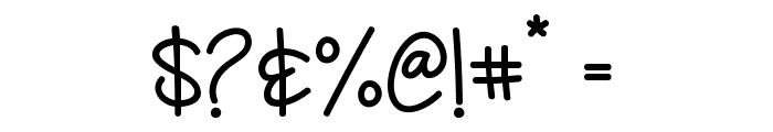 Deep Feeling Font OTHER CHARS