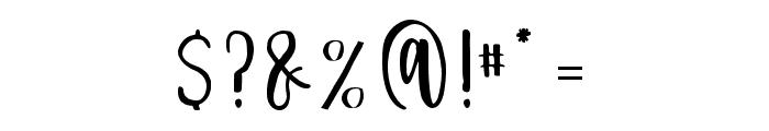Delaney Sans Font OTHER CHARS