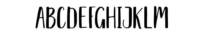 Delaney Sans Font UPPERCASE